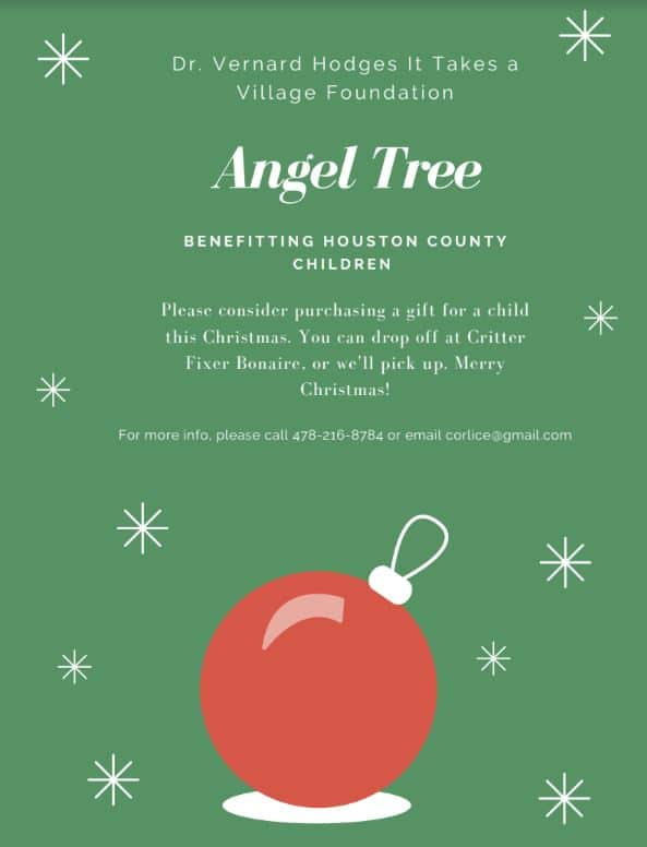 it takes a village foundation Angel Tree
